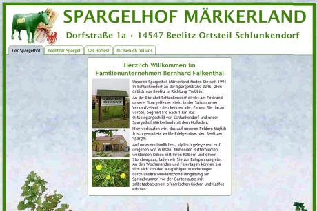 Spargelhof Maerkerland