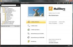 Startseite MailStore Home